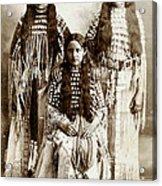 Young Kiowa Belles 1898 Acrylic Print