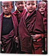 Young Monks II Acrylic Print
