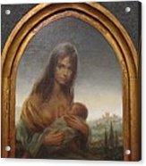 Young Mother Of Urbino Acrylic Print