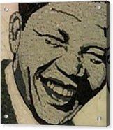Young Nelson Mandela Acrylic Print