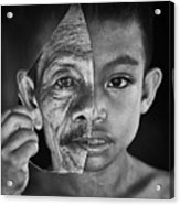 Young Or Old Acrylic Print