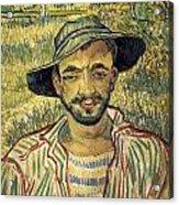 Young Peasant Acrylic Print