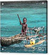 Young Seaman Acrylic Print