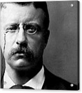 Young Theodore Roosevelt Acrylic Print by Bill Cannon