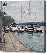 Youngstown Yachts Acrylic Print