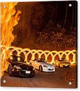 Your Cars On Fire Acrylic Print