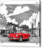 Your Ferrari In Tularosa N M  Acrylic Print