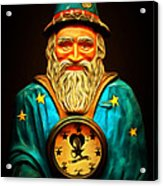 Your Fortune Be Told By The Wizard Fortune Telling Machine 7d144 Acrylic Print