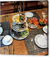 Your Invited To A Tea Party Acrylic Print