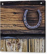 Your Lucky Horseshoe Acrylic Print
