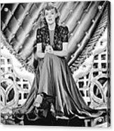 Youre A Sweetheart, Alice Faye, 1937 Acrylic Print