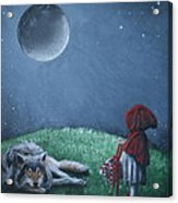 Youre Just A Big Bad Wolf. Acrylic Print