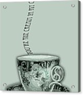 You're The Cream In My Coffee Valentine Acrylic Print