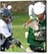 Youth Lacrosse Acrylic Print