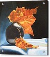 Youtube Video - Memories Of Fall Acrylic Print