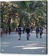 Yoyogi Park Acrylic Print