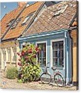Ystad Cottages Acrylic Print