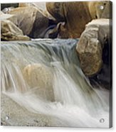 Yuba River Granite Acrylic Print