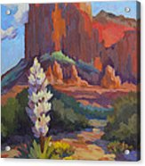 Yucca At Sedona Acrylic Print