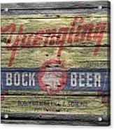 Yuengling Bock Beer Acrylic Print