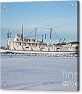Yukon Gold Rush Sternwheeler Ss Klondike Acrylic Print