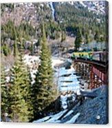 Yukon Railroad 3 Acrylic Print