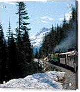 Yukon Railroad Acrylic Print