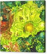 Yupo Flower2 Acrylic Print