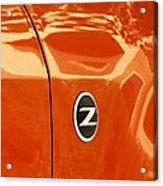 Z Emblem P Acrylic Print