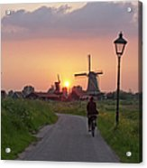 Zaanse Schans Windmills Acrylic Print