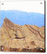 Zabriskie Point Acrylic Print