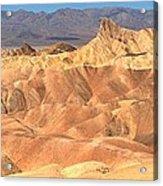 Zabriskie Point Medium Panorama Acrylic Print