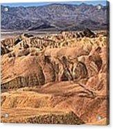 Zabriskie Point Panorama 2 Acrylic Print