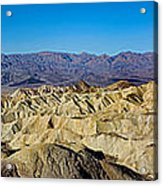 Zabriskie Point Panoramic Acrylic Print