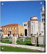 Zadar Historic Architecture Acrylic Print