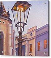 Zagreb Gaslight - Croatia Acrylic Print