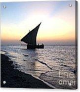 Zanzibar Sunset 20 Acrylic Print by Giorgio Darrigo