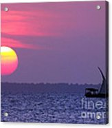 Zanzibar Sunset 21 Acrylic Print by Giorgio Darrigo