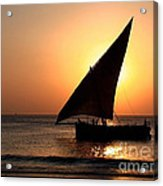 Zanzibar Sunset 22 Acrylic Print by Giorgio Darrigo