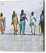 Zanzibar Women 02 Acrylic Print