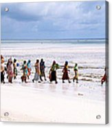 Zanzibar Women 28 Acrylic Print