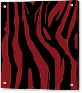Zebra Print 002 Acrylic Print by Kenneth Feliciano