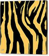 Zebra Print 005 Acrylic Print by Kenneth Feliciano