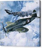 Zemke's Thunder Acrylic Print by Randy Green