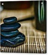 Zen Balance Is Key Acrylic Print