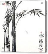 Zen Bamboo Union Acrylic Print