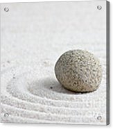 Zen Garden Acrylic Print