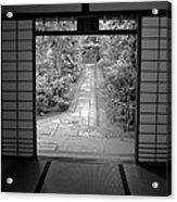 Zen Garden Walkway Acrylic Print