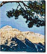 Zen Mountain Acrylic Print
