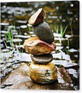Zen River I Acrylic Print